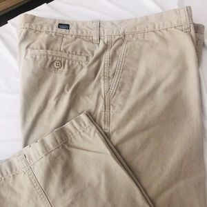 Men's size 34X30 Patagonia canvas pant